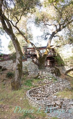 Stonework steps to lower patio_4528