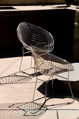 Metal chairs outdoor living_6828
