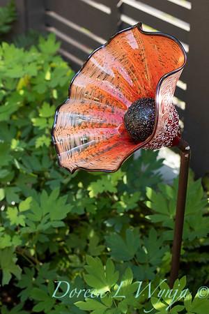 Orange acents in the Garden_6509