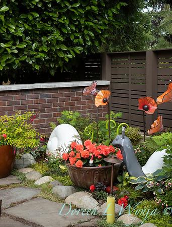 Orange acents in the Garden_6510
