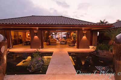 Entryway - koi pond - footbridge_9174