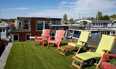 Houseboat garden rooftop astro turf_1146