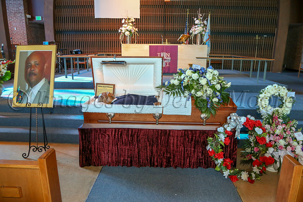 Private Images - Funeral Service for Fred Bernard