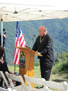 Groundbreaking Bald Mt. Parking Area