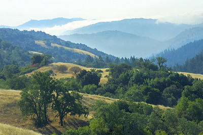 View from Achistaca Trail, Long Ridge OSP