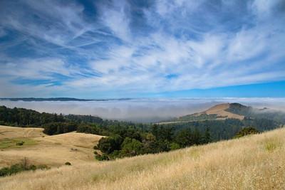 Fog Ban toward Monterey Bay