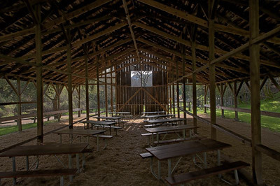 Inside Hay Barn at Rancho San Antonio OSP