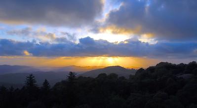 Russian Ridge sunset 1