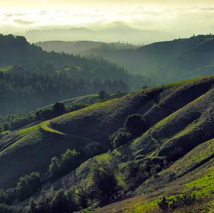 Russian Ridge west Feb 2006