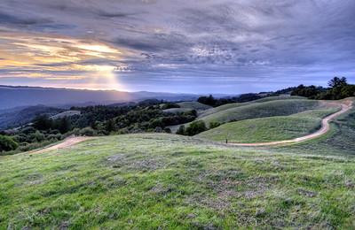 J Mosher- Last Light - Long Ridge OSP Category: Landscapes
