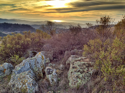 M Housewright - Russian Ridge Sunset Color Spectrum - Russian Ridge OSP Category: New Media