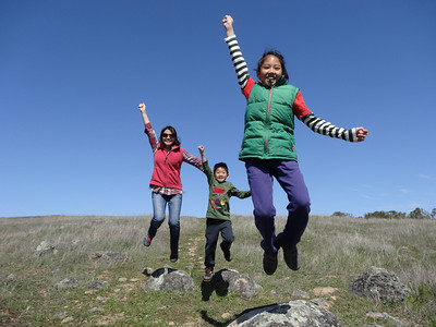 P Chen - Happy Jumps - Monte Bello OSP Category: People