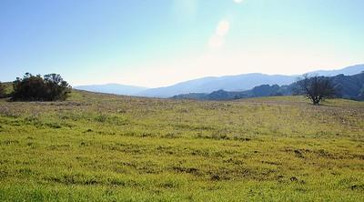 Landscape on the Cora Older Trail