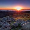 Sunset on Russian Ridge
