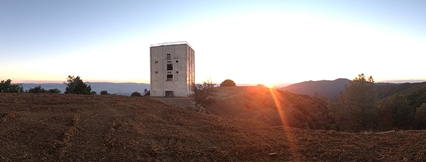 Sunrise at the summit. Hazardous materials removal and demolition of all structures except the radar tower are now complete!   Photo: Meredith Manning
