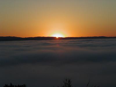 Allen Cefalu - A Quiet Sunrise - Fremont Older OSP Category: Landscapes