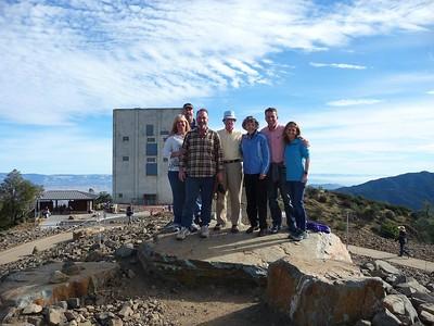 Family on Highest Peak at Mt Umunhum