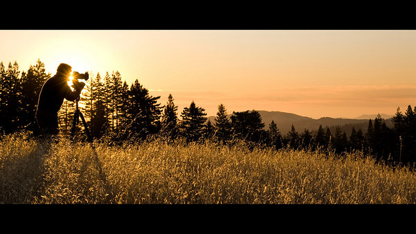 Grand Prize Winner: Catching the Sunrise at Vista Point by Alex Stoll - La Honda Creek OSP