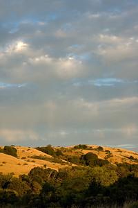 Debbi Brusco - Rain before sunset, 10/1/10  - Monte Bello OSP