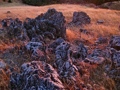 Maurice Hamilton - Karst Formation on Black Mountain  - Monte Bello OSP