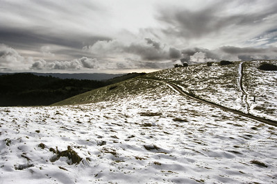 Tim  Chavez - Snow on Monte Bello  - Monte Bello OSP
