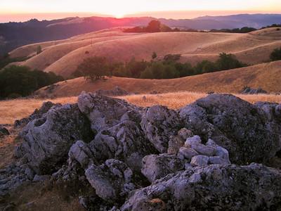 Maurice Hamilton - Sunset from Black Mountain Summit  - Monte Bello OSP