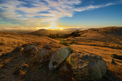 G Hughes - Photographers Working the Sunset - Russian Ridge OSP Category: People