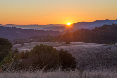 A Satara - First Light Returning: Winter Solstice Sunrise 2013 - Russian Ridge OSP Category: Landscapes