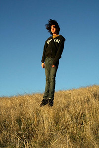 A Salim - Evening Levitation - Russian Ridge Open Space Preserve Category: People