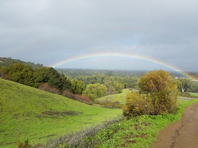 Rainbow at Rancho