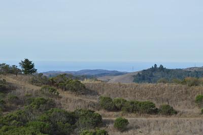 View of Pacific Ocean