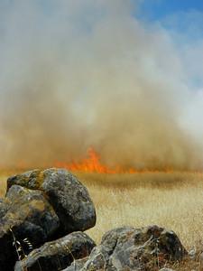 Rocks and Fire Russian Ridge OSP 2009 by G. Kern