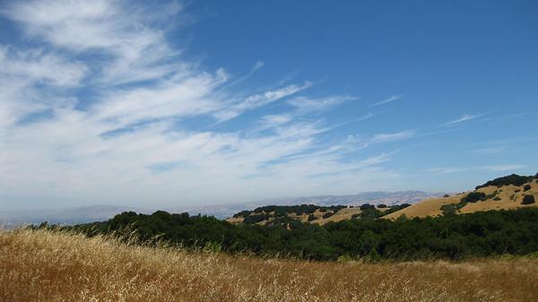 Sky at Jaques Ridge  Sierra Azul OSP
