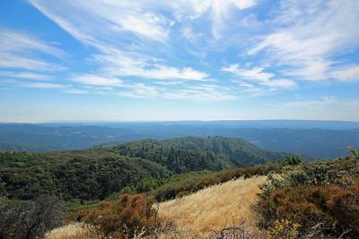 Honorable Mention: Brian Fair - Ralph's Mountain from Thayer - Sierra Azul OSP