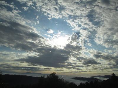 Cat Allen - Cloud Formation & Creeping Fog - Saratoga Gap OSP (Charcoal Road)