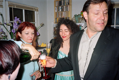 "Alexa Hunter and George's ""Wedding Reception"" Party, Los Angeles, 1991 - 13 of 18"