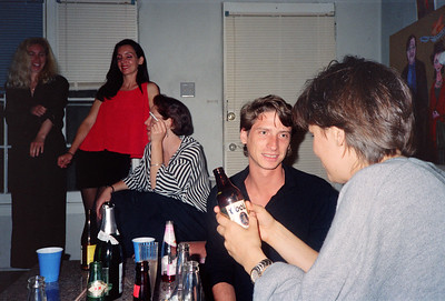 "Alexa Hunter and George's ""Wedding Reception"" Party, Los Angeles, 1991 - 14 of 18"