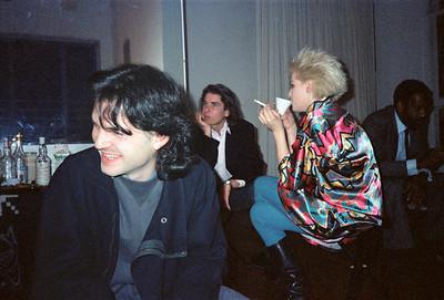 Motoko's Christmas Eve Party, SoHo, NYC, 1985 - 11 of 11