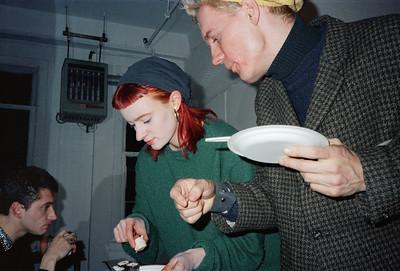 Motoko's Christmas Eve Party, SoHo, NYC, 1985 - 3 of 11