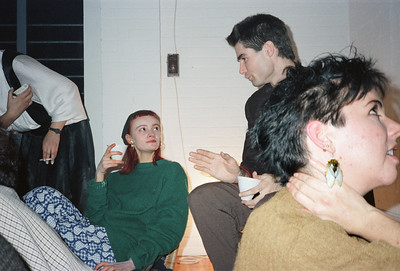 Motoko's Christmas Eve Party, SoHo, NYC, 1985 - 4 of 11