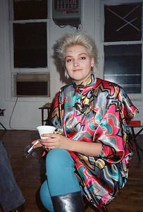 Motoko's Christmas Eve Party, SoHo, NYC, 1985 - 8 of 11