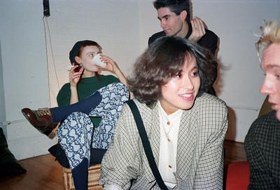 Motoko's Christmas Eve Party, SoHo, NYC, 1985 - 6 of 11