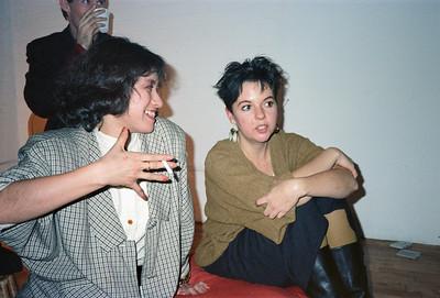 Motoko's Christmas Eve Party, SoHo, NYC, 1985 - 7 of 11