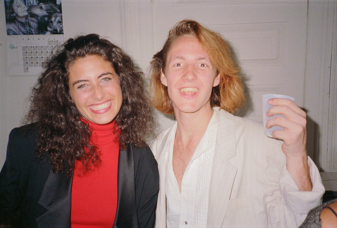 Details Magazine Reception for Richard Fantina, NYC, 1986 - 5 of 13