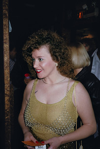 Bill Margold's FOXE Awards at Gazzarri's: Curly Hair Brunette
