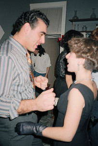 Fran's Gangster Party, Brooklyn, NY, 1986 - 8 of 13