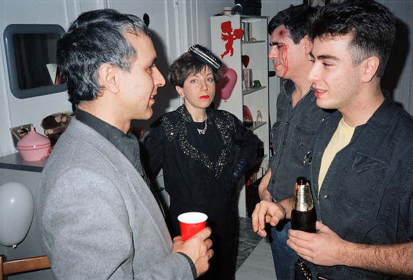 Fran's Gangster Party, Brooklyn, NY, 1986 - 1 of 13