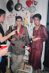 Fran's Gangster Party, Brooklyn, NY, 1986 - 4 of 13