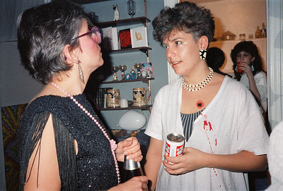 Fran's Gangster Party, Brooklyn, NY, 1986 - 2 of 13