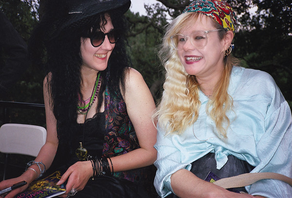 Death Warmed Over by Krystine Kryttre Publication Party, Oakland, CA, 1990 - 6 of 10
